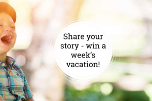Win a trip to Newport Overlook!  Share a story for a chance to win.