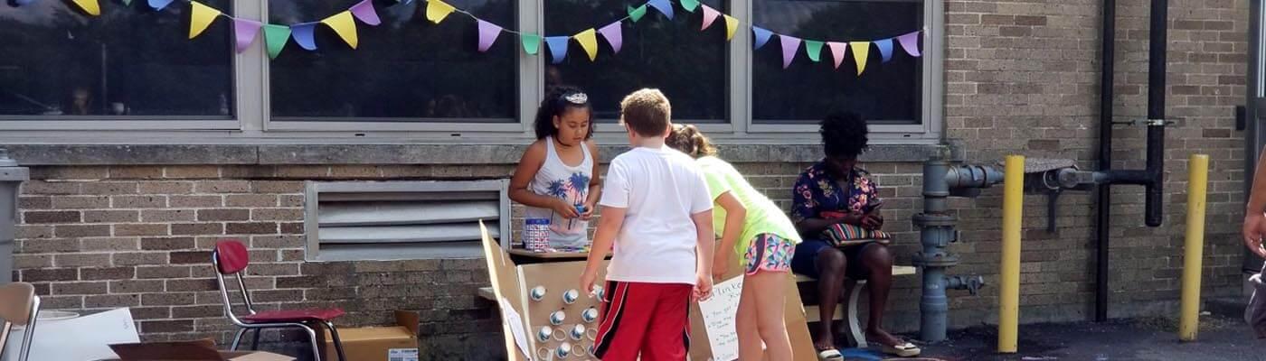 North Providence Kids Klub HSLI summer program Culminating Event